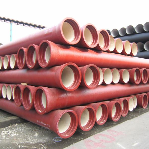 Ductile welded Pipe