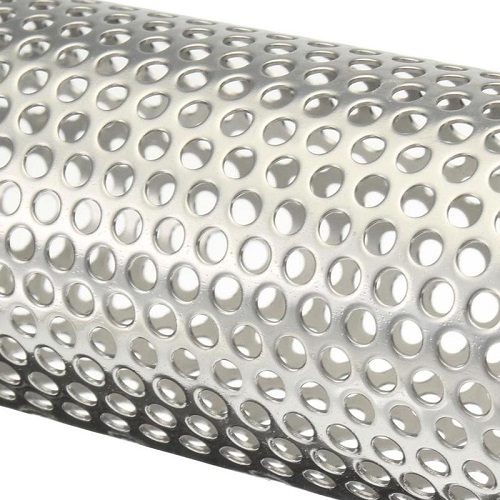 Stainless Steel 316 Perforated Tube Perforated Exhaust
