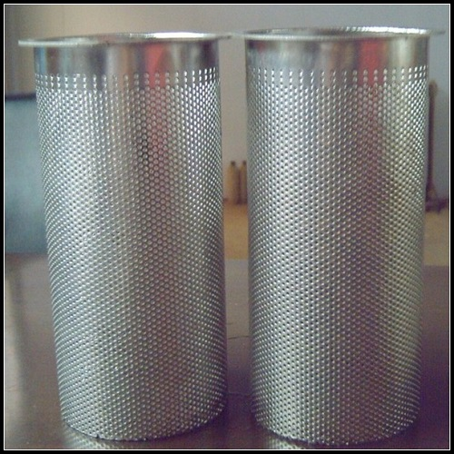 Stainless Steel 316 Perforated Tube, Perforated Exhaust